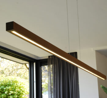 hanglamp houten balk 180 eiken