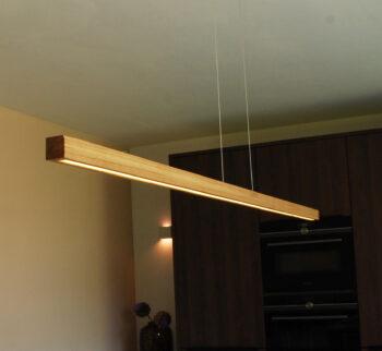 Hanglamp keukeneiland Bylum 120 eiken